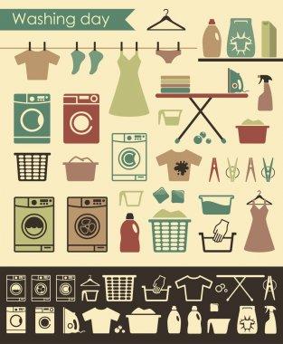Laundry icons