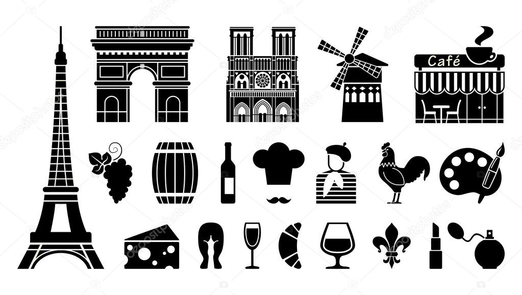 Traditional Symbols Of The French Klava
