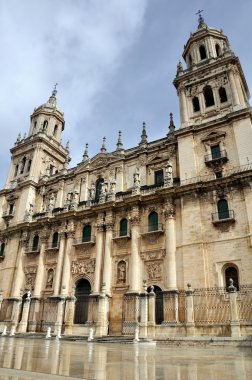 Cathedral in Jaen, Spain.