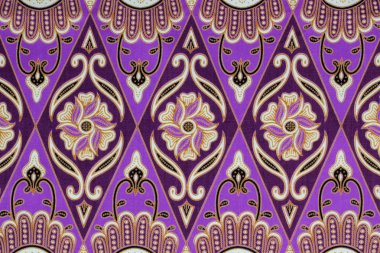 Beautiful batik patterns that become traditional clothes malaysi