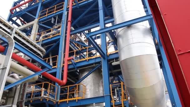 Struktur in industrieller Fabrik