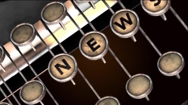 Psací stroj novinky