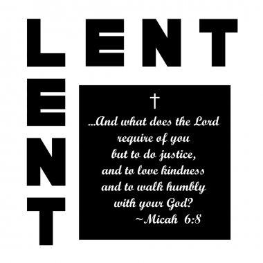 Lent icon