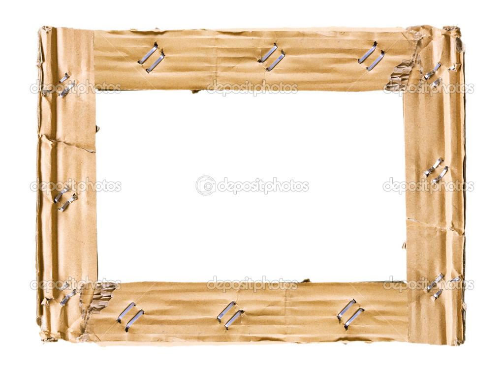 marco de cartón — Fotos de Stock © dpp2012 #12385253