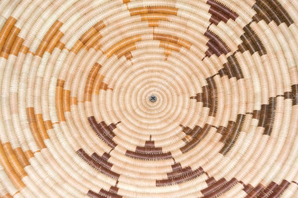 Circular Basket weave pattern