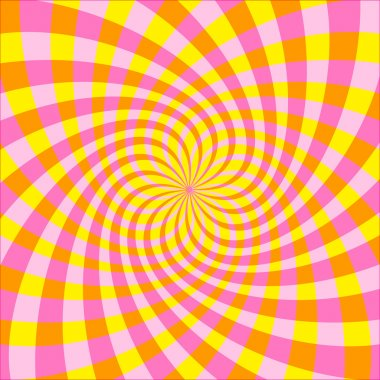 Vector Cyclic optical illusion background (EPS)