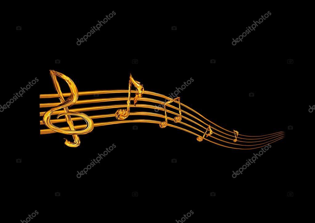 Фото: музыкальное. Абстрактный
