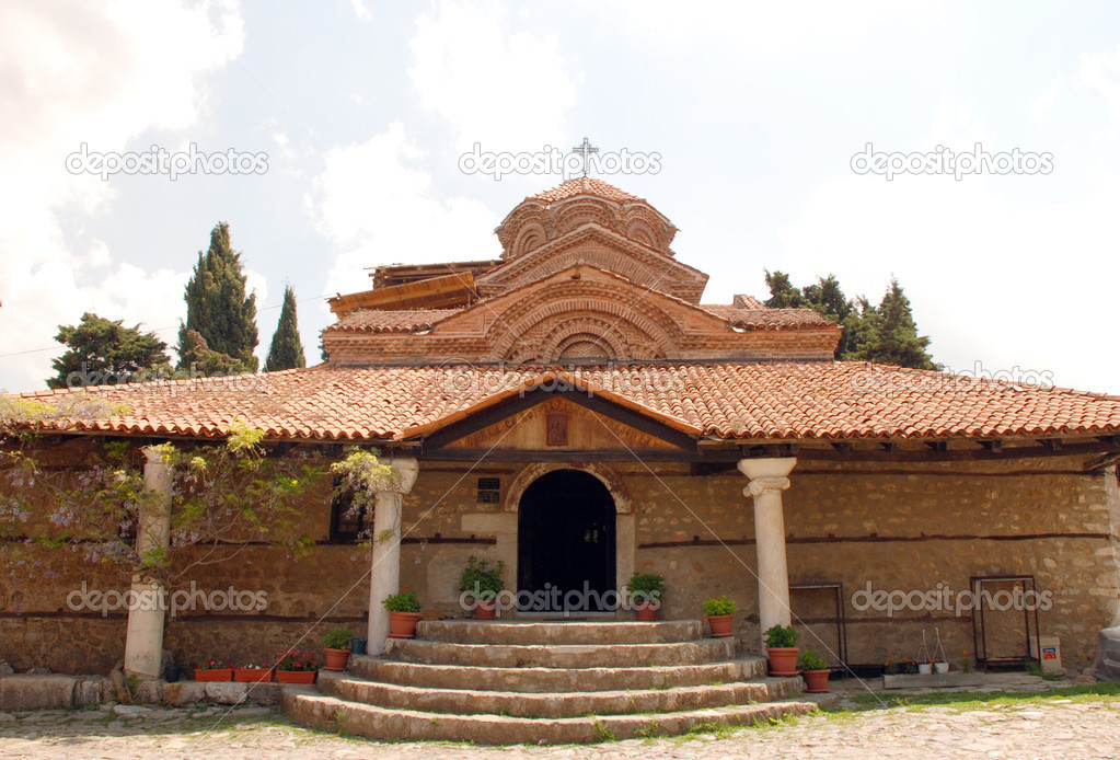 Christian Church In Ohrid Macedonia Stock Photo Twins 28377193
