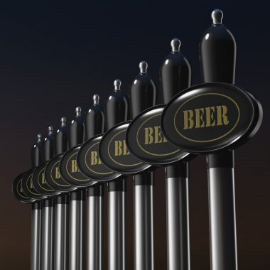 Tradition pull handles for beer