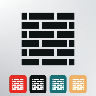 brick wall icon.