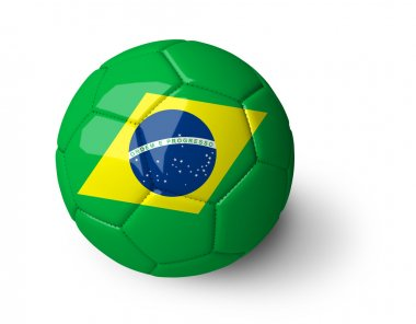 Concept for Brazil 2014 world football cup.