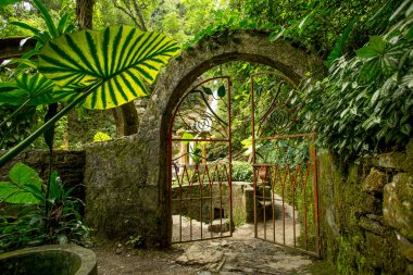 iron gate on junge path