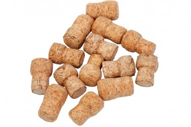 Many corks from bottles