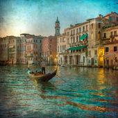 Fotografie Vintage Bild des Canal Grande, Venedig