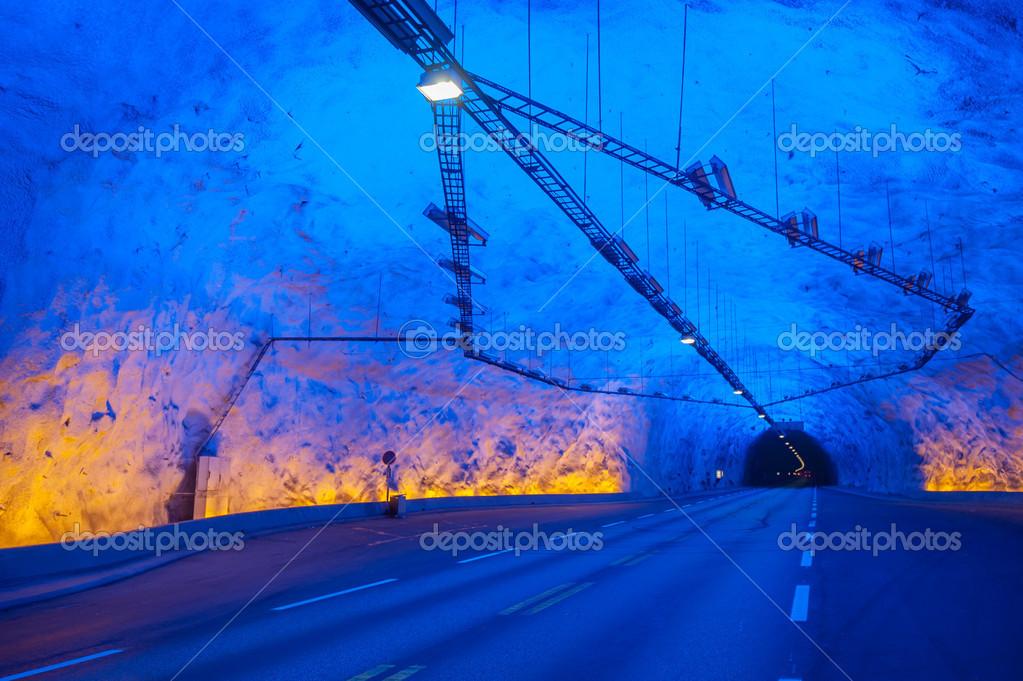 Laerdal Tunnel Norwegen Der Längste Straßentunnel Der Welt