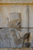 Photo Ancient bas-reliefs of Persepolis, Iran