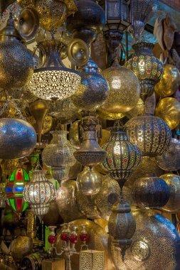 Moroccan antique lamp