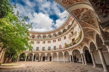 Plaza del Cabildo, Seville, Spain