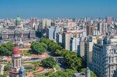 Fotografie Panorama of Buenos Aires, Argentina