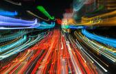 Fotografie semafor v motion blur