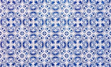 Azulejos, traditional Portuguese tiles stock vector