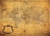 Fotografie Vintage map of world
