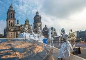 Fotografie Tag der Toten in Mexiko-Stadt