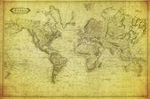 Fotografie Vintage map of the world