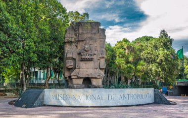 Entrance to the National Museum of Anthropology