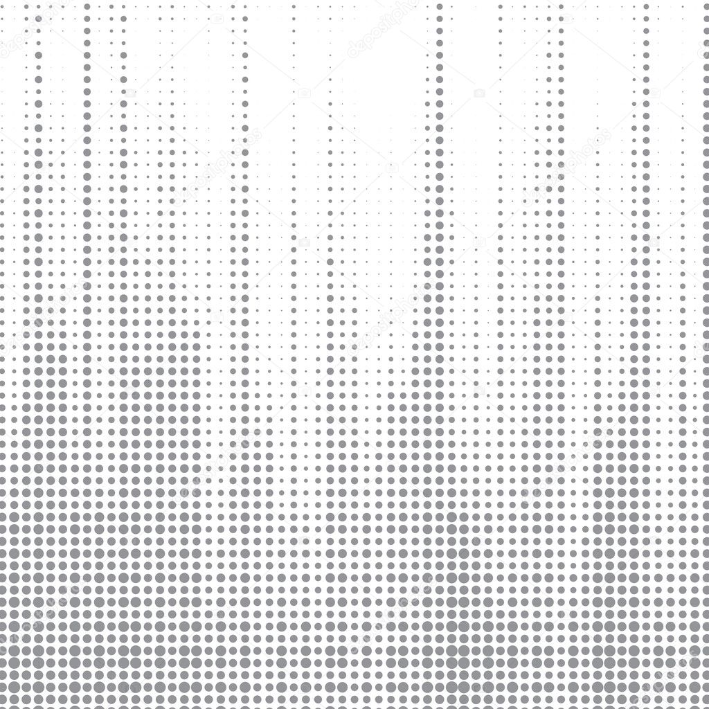 Dot halftone abstract vector background