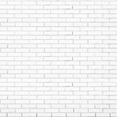 Photo White brick wall vector texture