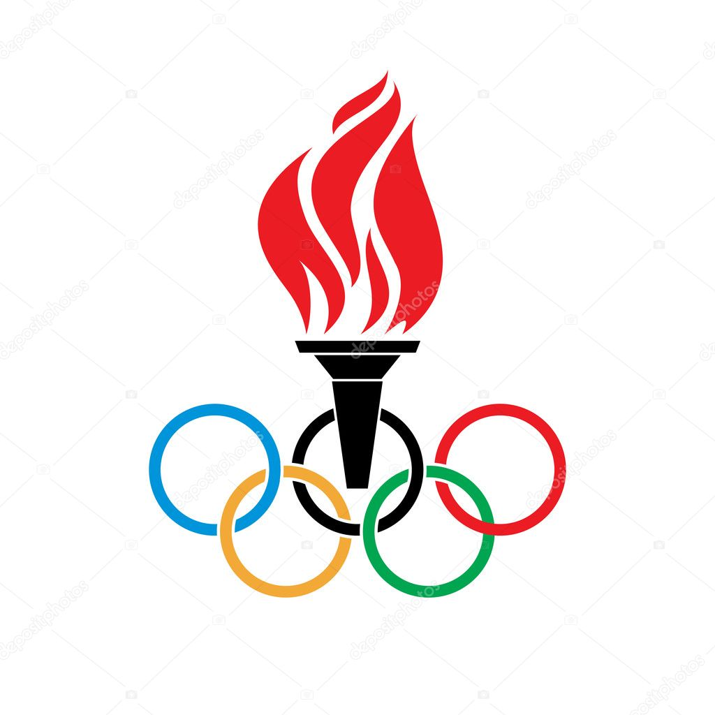 Olympic stock vectors royalty free olympic illustrations olympic symbols torch and rings vector stock vector biocorpaavc Images
