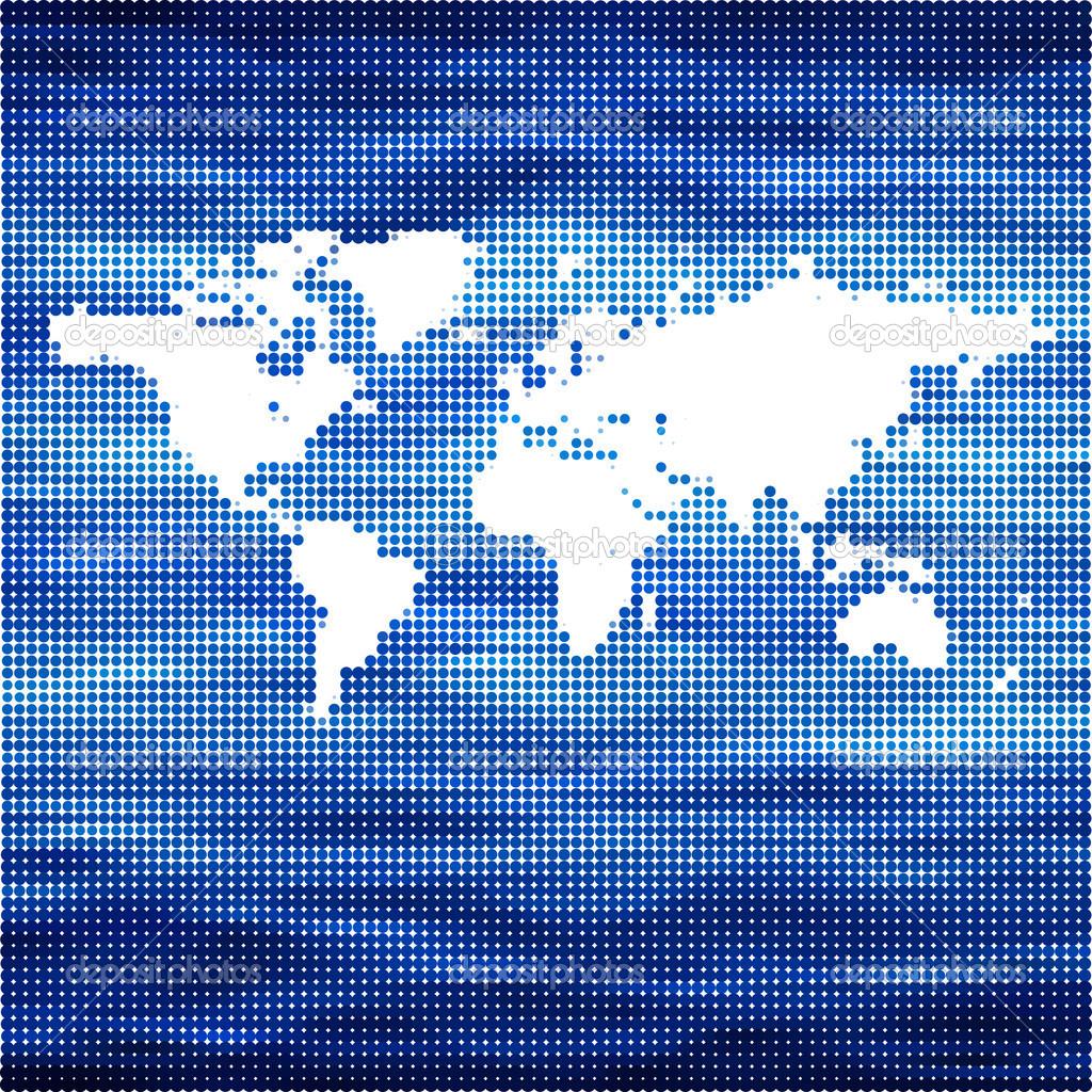 World ocean vector map concept stock vector jmcreation 42892835 world ocean vector map concept stock vector gumiabroncs Images