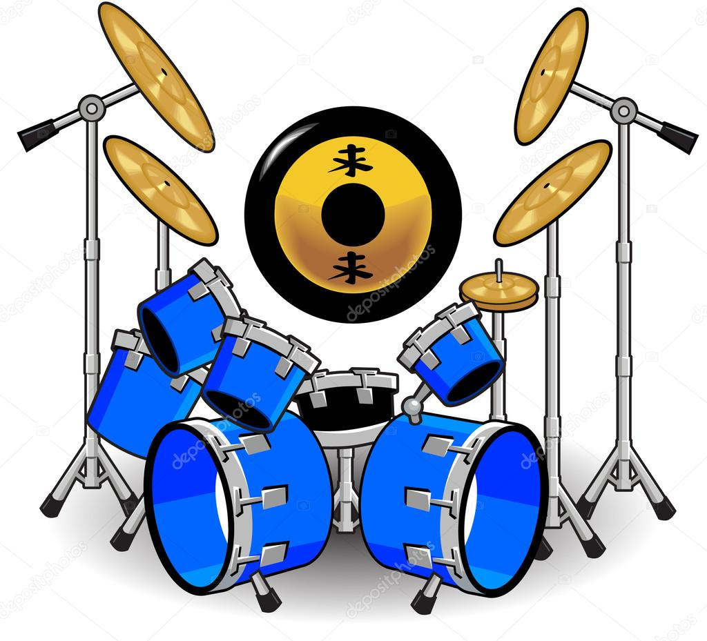 Uncategorized Music Cartoons drums and music cartoons stock vector kk inc 49386505 49386505