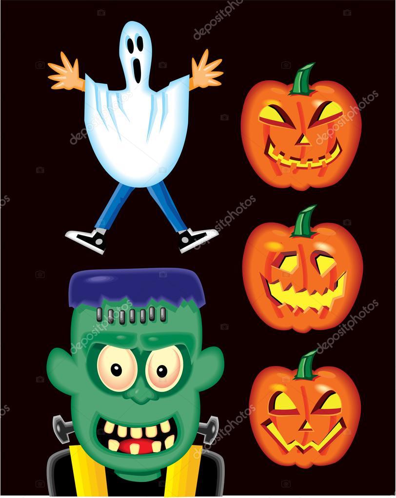 Halloween Pumpkin Ghoul