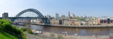 Panoramic view of the City of Newcastle