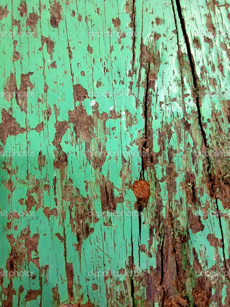 Old Greenl Wooden