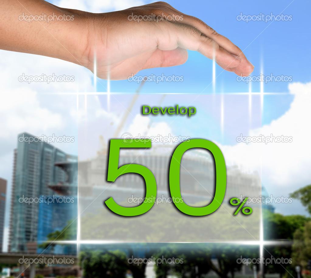 davalop 50 percent