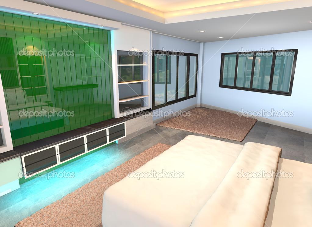 Decoração De Parede Verde Fotografias De Stock Sumetho 41717909