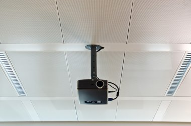 Projector on the ceiling