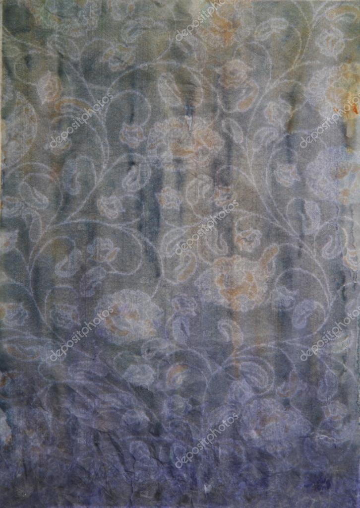 Papier gris, jaune et violet peinture abstraite — Photographie iulia_shev © #12536757