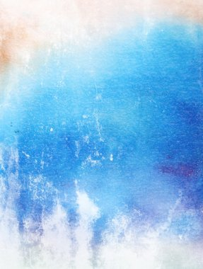 Abstract textured background: blue amd white patterns