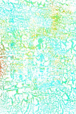 Abstract textured background: blue, green, and orange patterns