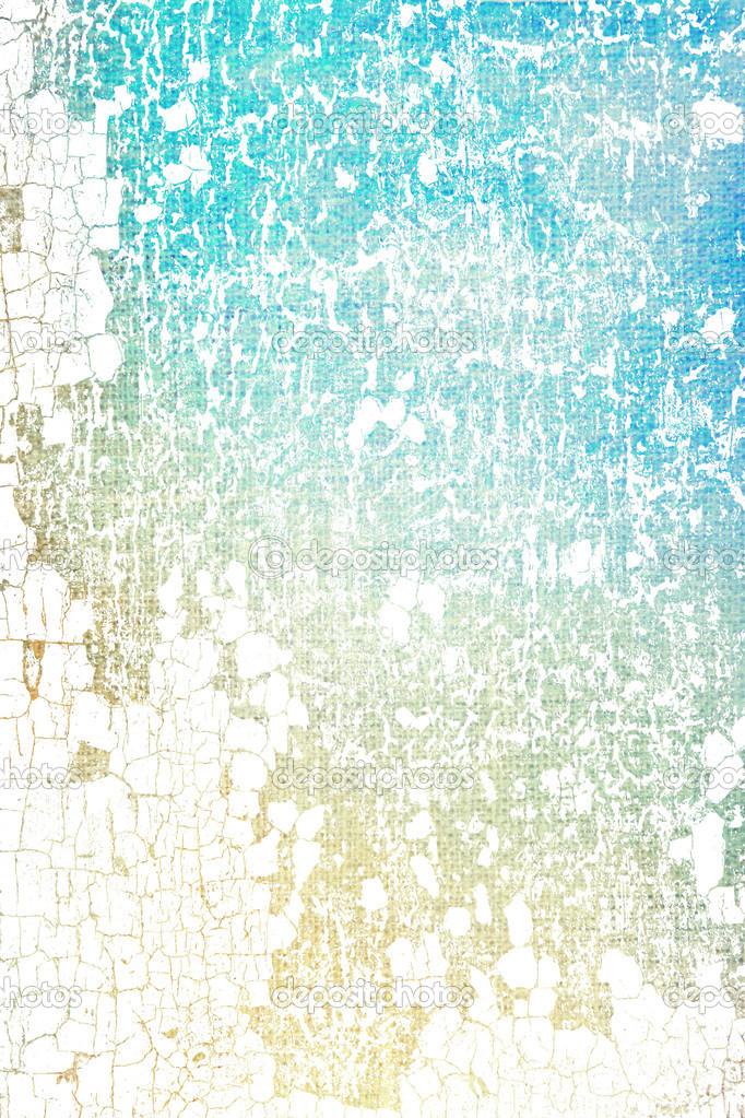 Abstrakt strukturierten hintergrund blau wei und braun muster an alte verkratzte wand - Muster an wand ...