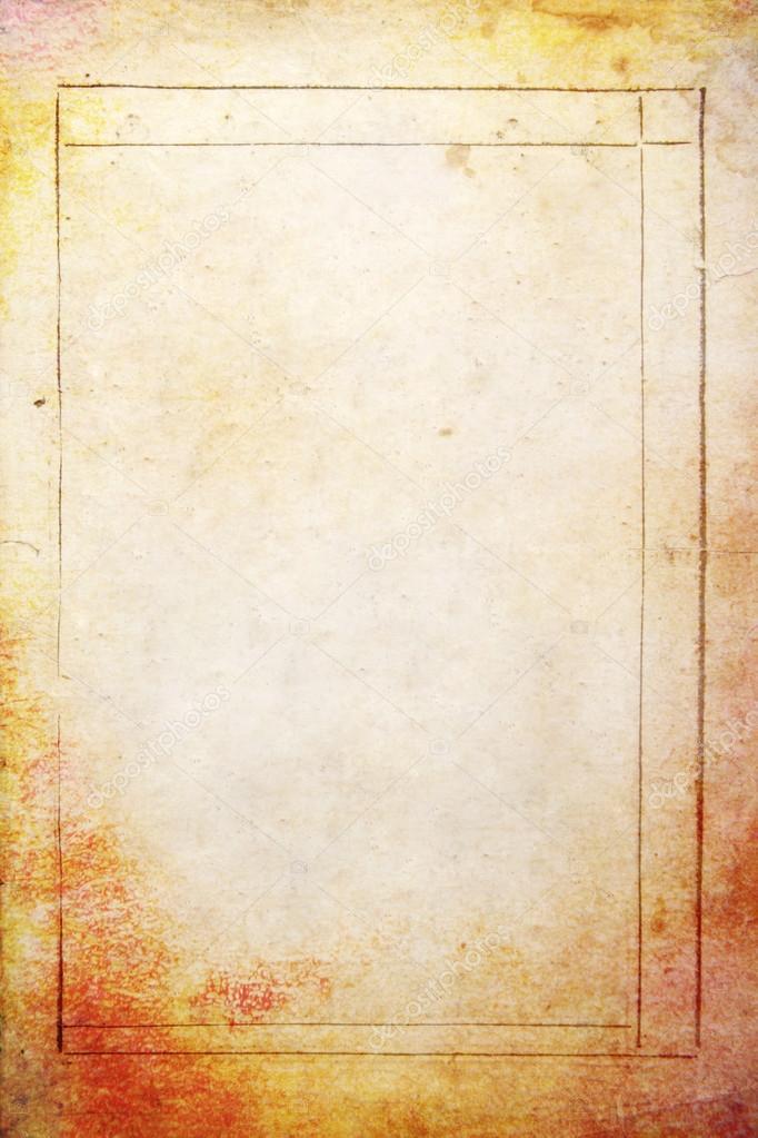 Abstracto con textura de fondo: Página antigua vintage con patrones ...