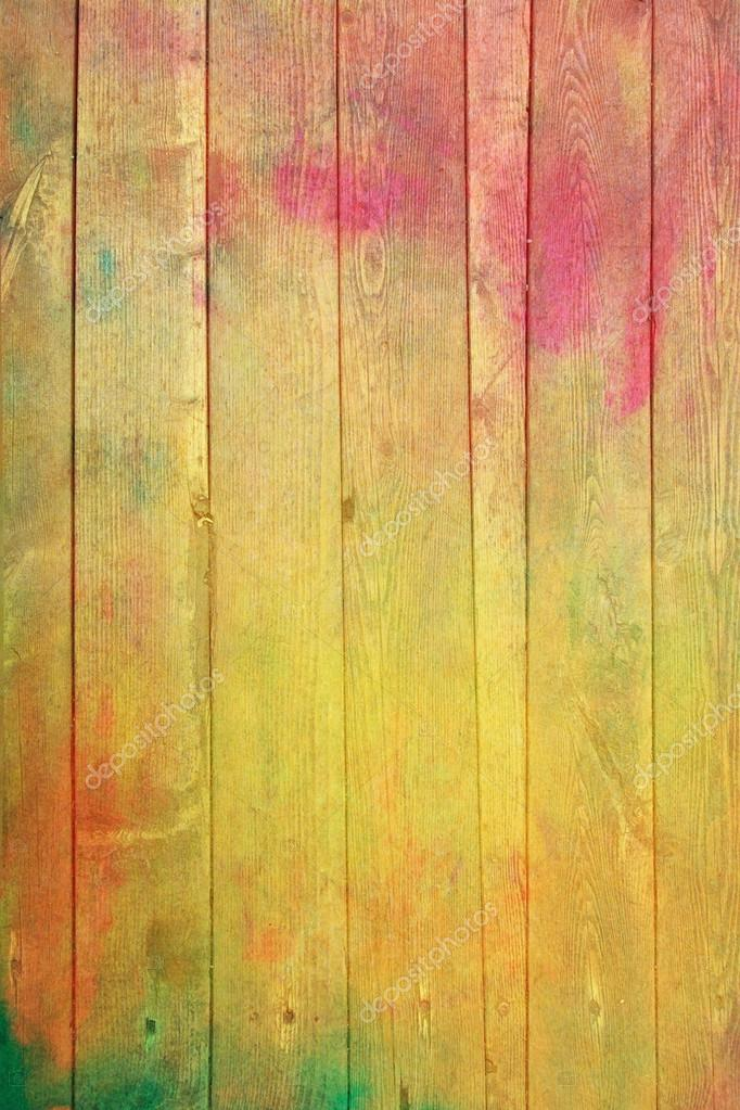 Old wooden painted wall: Abstract textured background with red ...