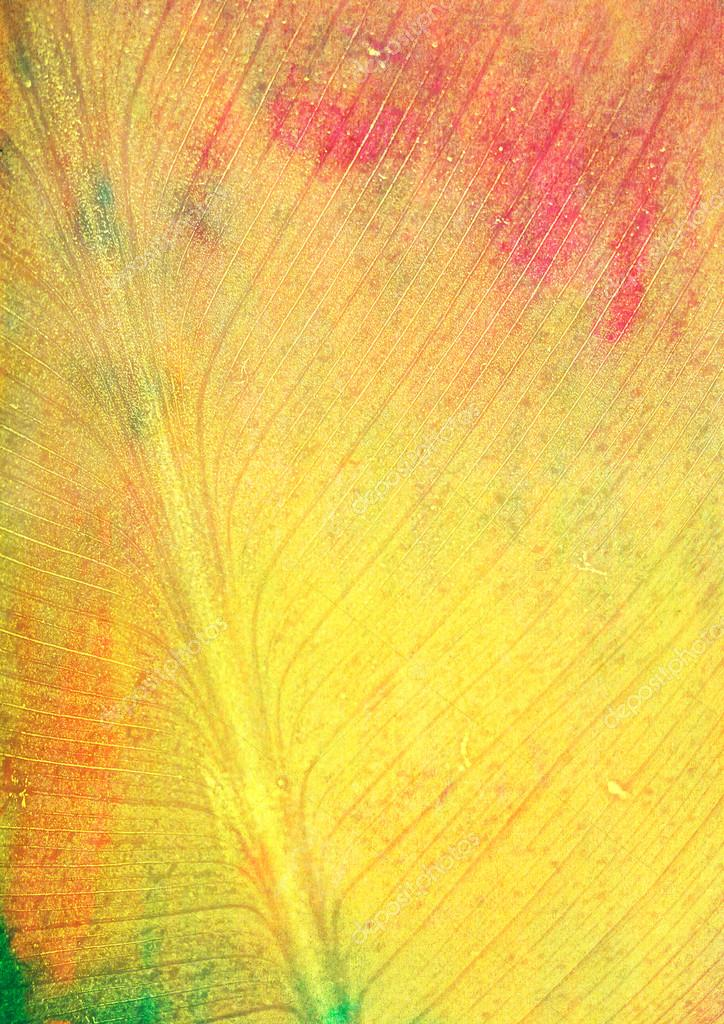 Leaf-like fall-themed background: red, green, and yellow patterns imitating leaf texture