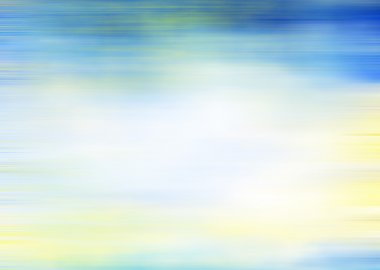 Abstract textured marine background: blue, yellow, and white pat
