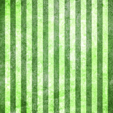 Abstract green background or paper with grunge texture and white stripes