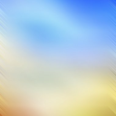 Abstract blue and yellow background or paper with grunge texture